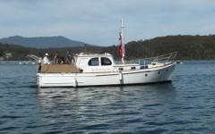Boat - huon islander