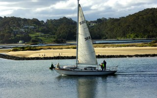 Fully restored 1938 Huon Pine Tamar Sloop for sale Narooma